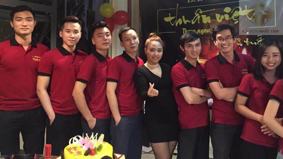 xưởng may áo đồng phục nhà hàng
