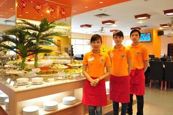 May Dong Phuc Nha Hang Binh Duong