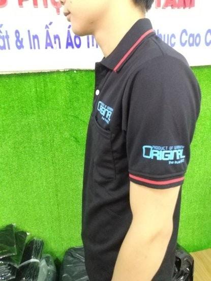 Ao Cong So In Logo Dep