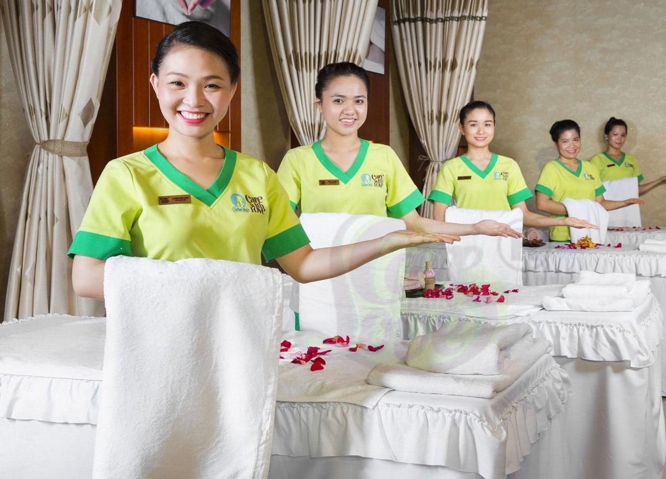 Ao Thun Dong Phuc Spa Dep