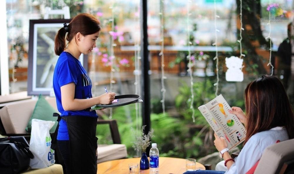 Dong Phuc Nhan Vien Phuc Cu Cafe