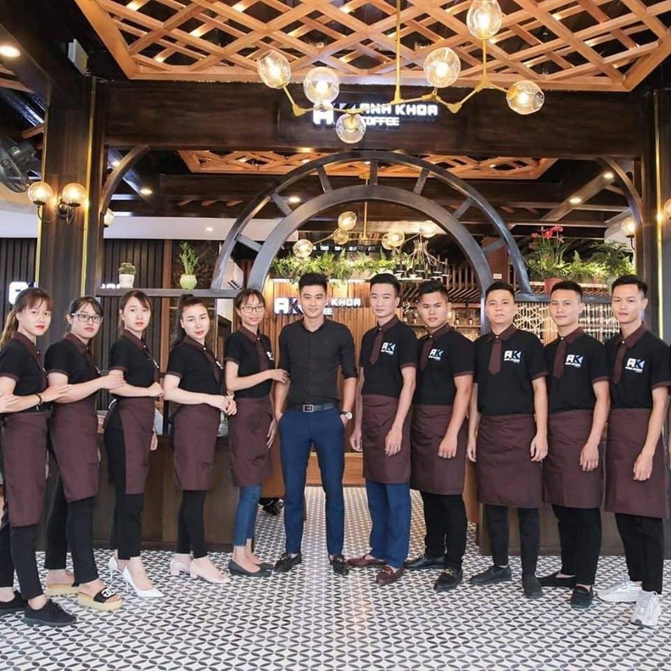 Dong Phuc Nhan Vien Quan Cafe