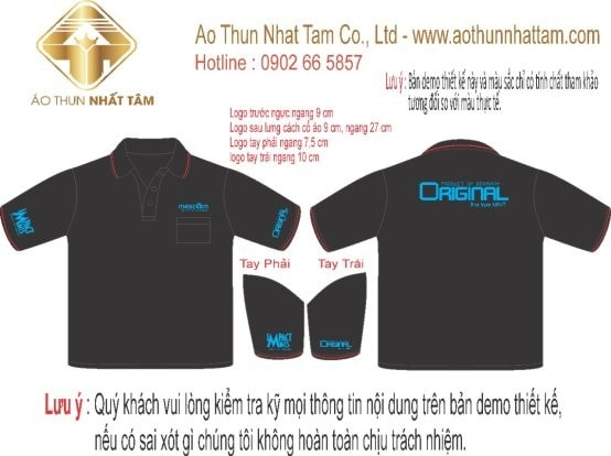 In Logo Len Ao Cong Ty