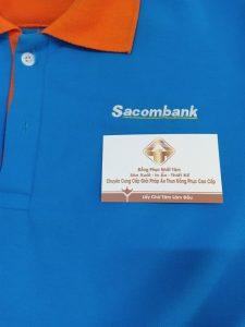 Thêu Logo áo Thun đồng Phục Công Ty