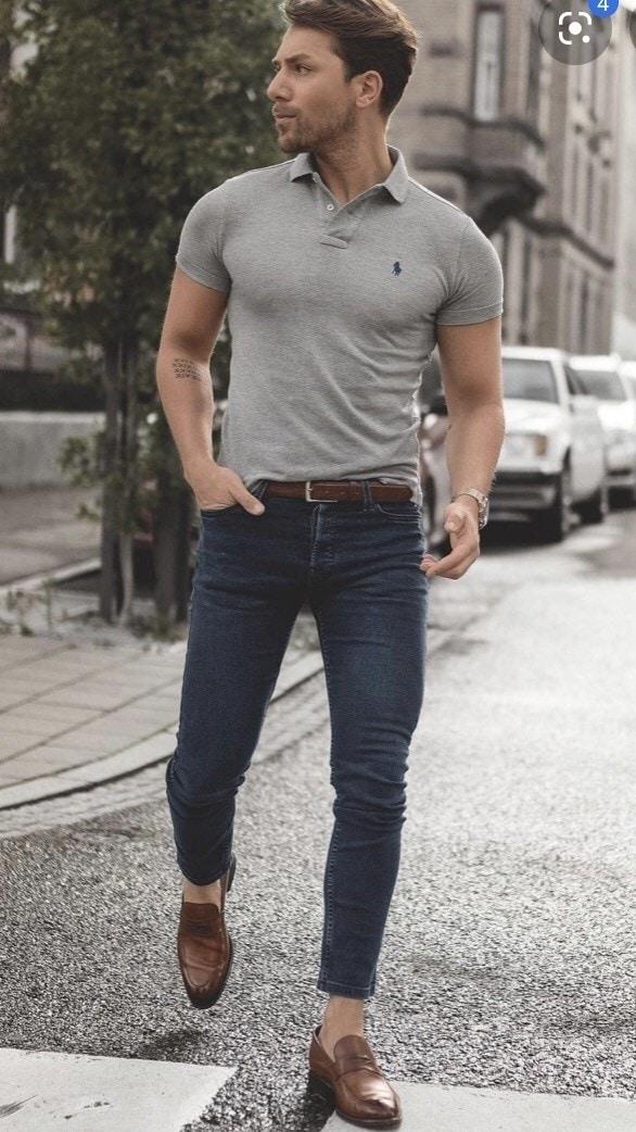 Ao Thun Ca Sau Quan Jeans