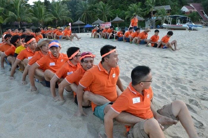 Dong Phuc Team Building Dep