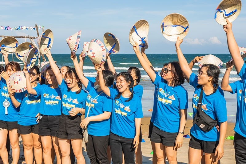 Dong Phuc Team Building Gia Re