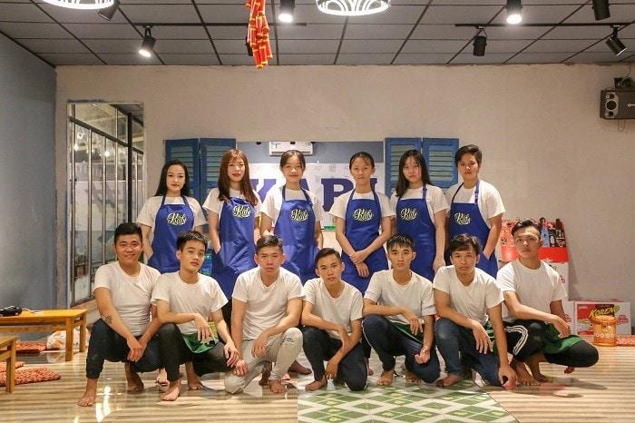 Tap De Dong Phuc In Logo