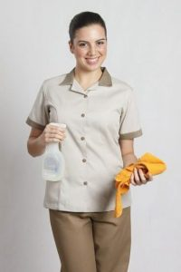 Đồng phục nhân viên tạp dề