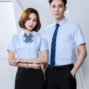 Ao So Mi Dong Phuc Sm11