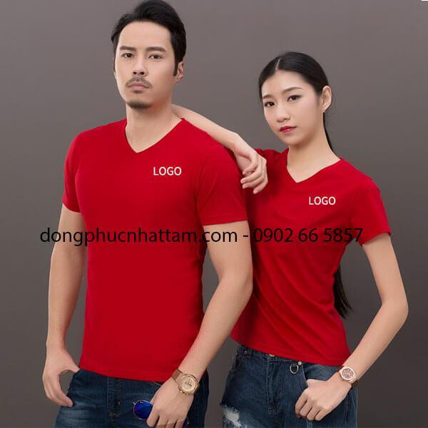 Ao Thun Dong Phuc Co Tim
