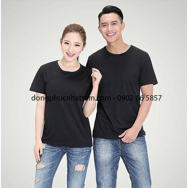 Ao Thun Dong Phuc Co Tron