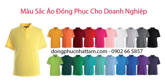 Mau Sac Ao Dong Phuc Cho Doanh Nghiep